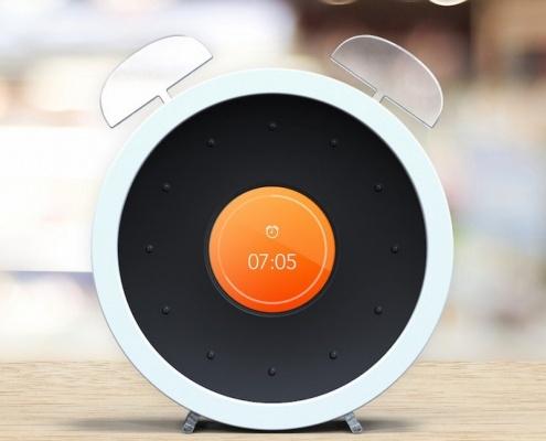 Bonjour Holi Alarm Clock