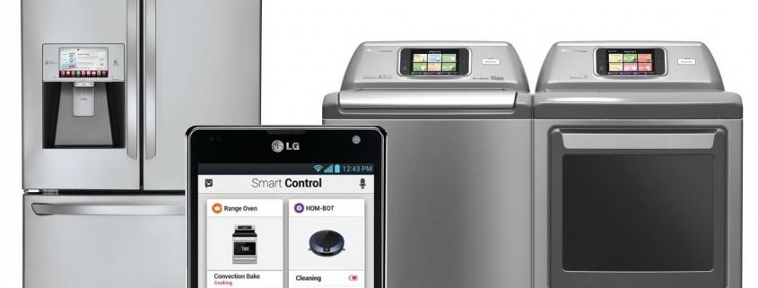 LG Smart háztartási eszközök