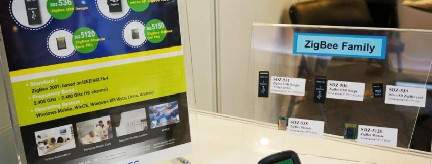microSD ZigBee kártya